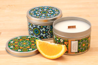 Citronella Candles Wholesale - Handpoured soy candles ethically made by women artisans in the U.S. at Prosperity Candle