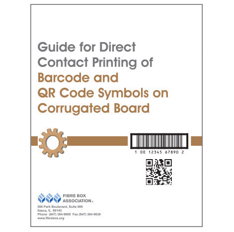 Guide for Direct Contact Printing of Barcode and QR Code Symbols on Corrugated Board