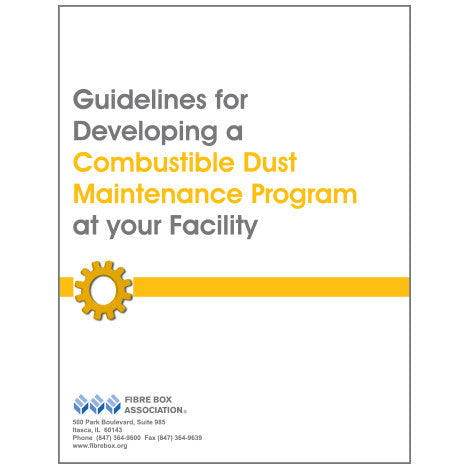 Guidelines for Developing a Combustible Dust Maintenance Program at your Facility