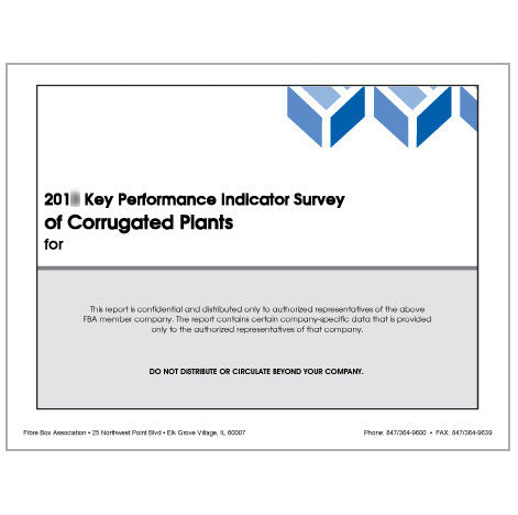 FBA Member - Key Performance Indicator Survey