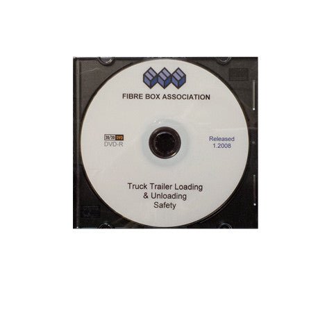 Truck and Trailer Loading and Unloading Safety DVD