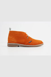 Submarine London - New Manchester Wildleder Chukka Stiefel Orange