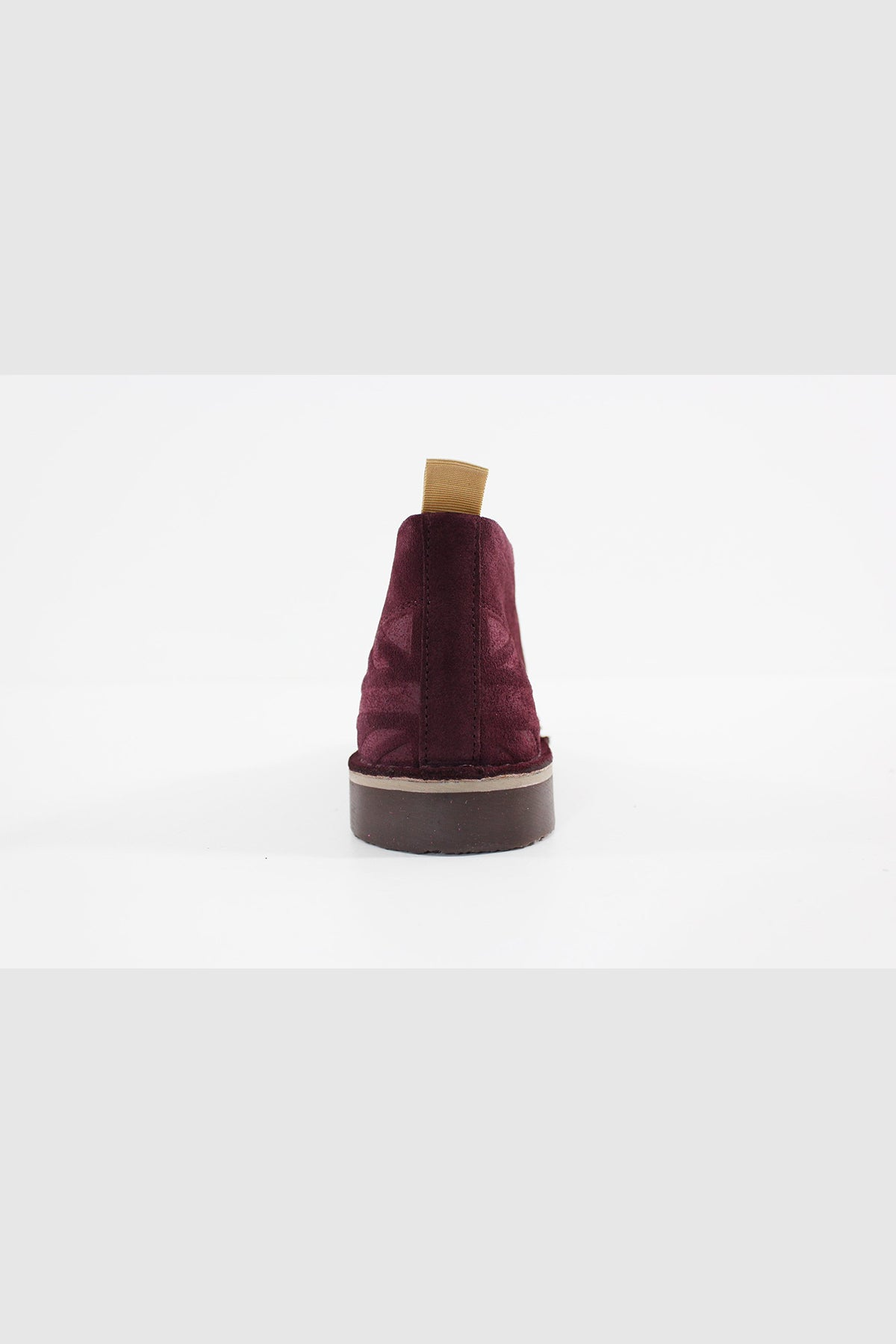 Submarine London - NEW MANCHESTER SUEDE UNISEX (WINE-CAPPUCCINO) Boot