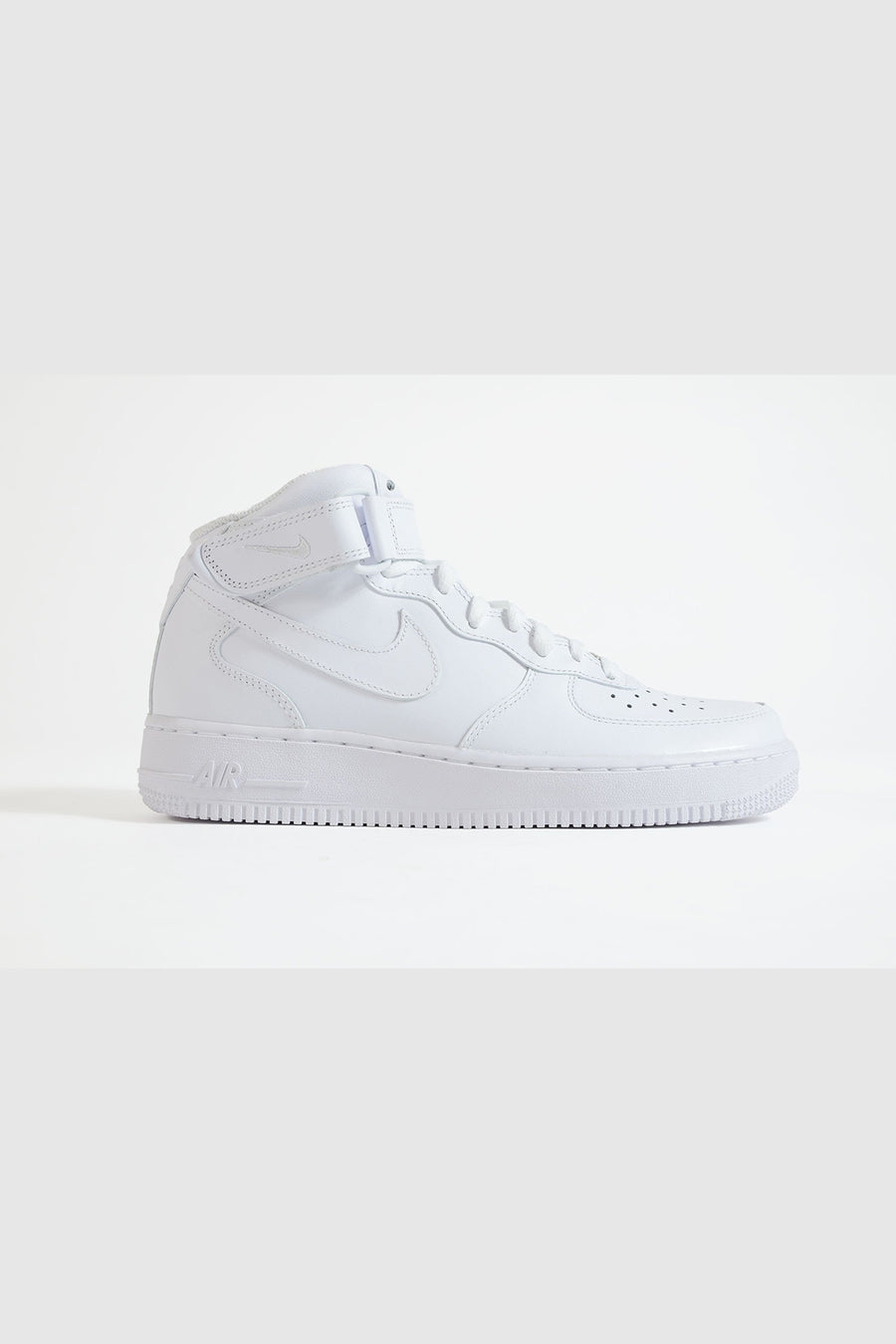 Nike - Air Force Mid Damen Sneaker in Weiß