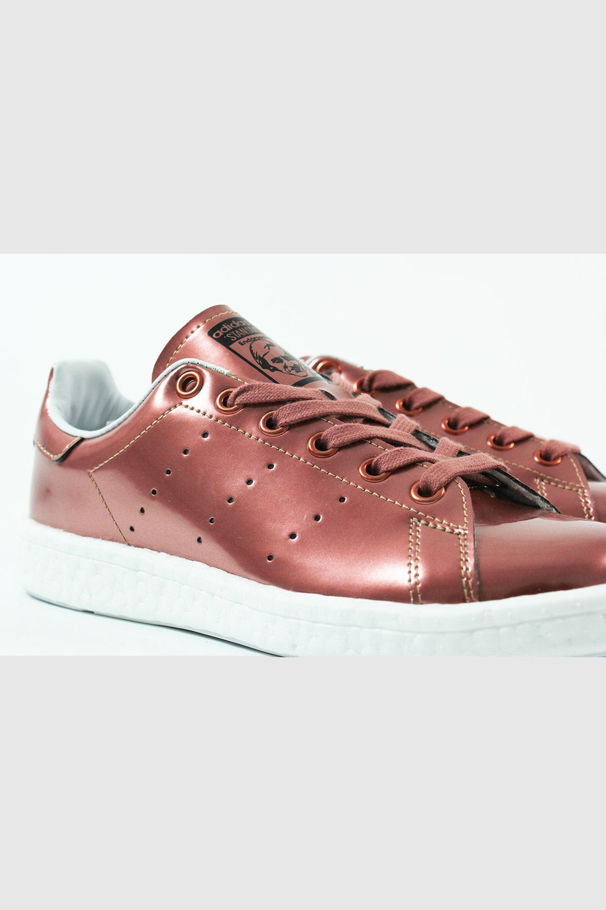 official store new appearance large discount Adidas - Stan Smith Boost Women (Copper Metallic/ White ...