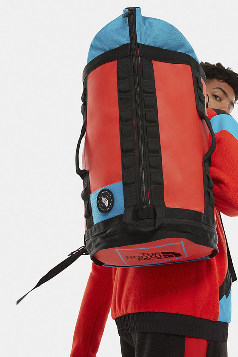 The North Face - Rucksack in strapazierbaren Material für Outdoor in Rot - NF0A3KYENT21