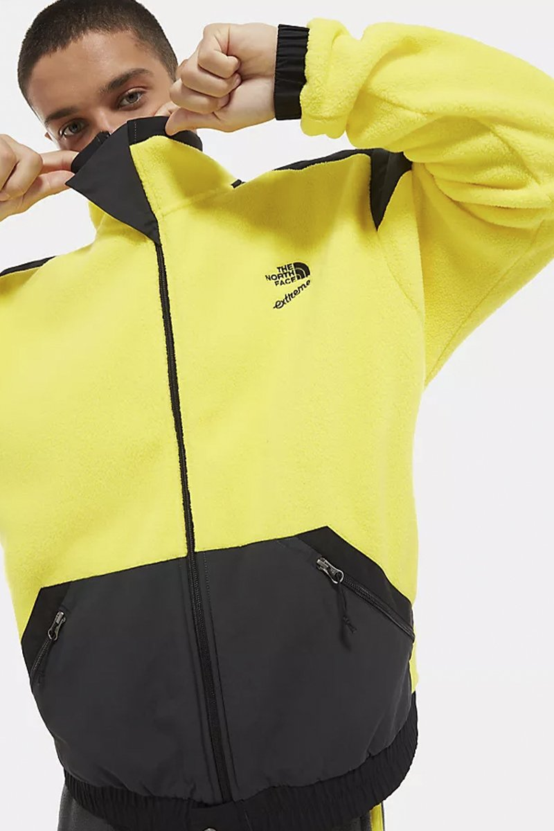 The North Face - Extreme Fleece Jacket (Tnf Lemon Combo) NF0A4AGKLKE1