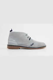 Submarine London - New Manchester Wildleder Chukka Stiefel Grau