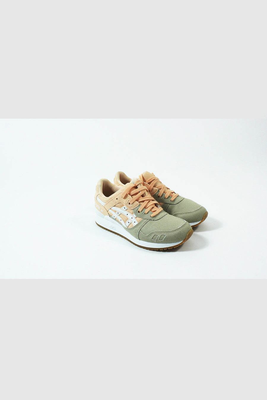 Asics - Gel Lyte III Women (Bleached Apricot /White)