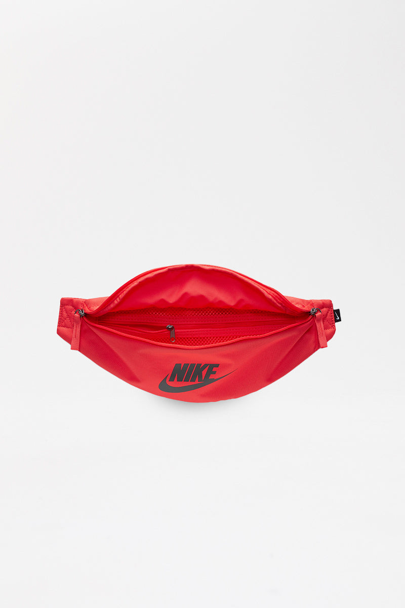 Nike - Red unisex belt bag with zipper  - BA5750-631
