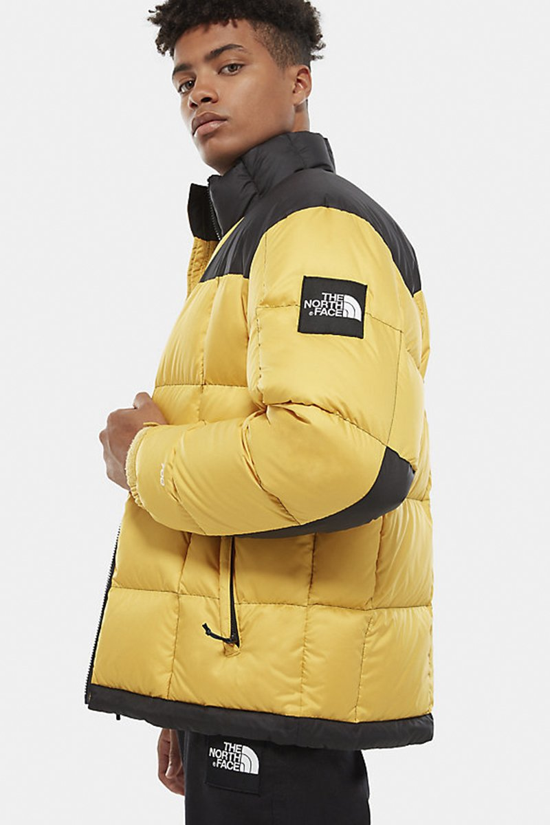 The North Face - Lhotse Jacket Cf (Bamboo Yellow) NF0A3Y23ZBJ1