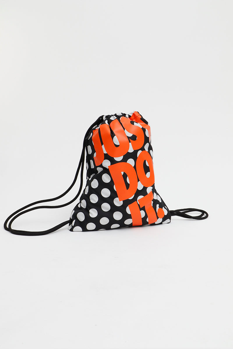Nike - Heritage Gymsack (Black/ Black/ Safety Orange) BA6389-010