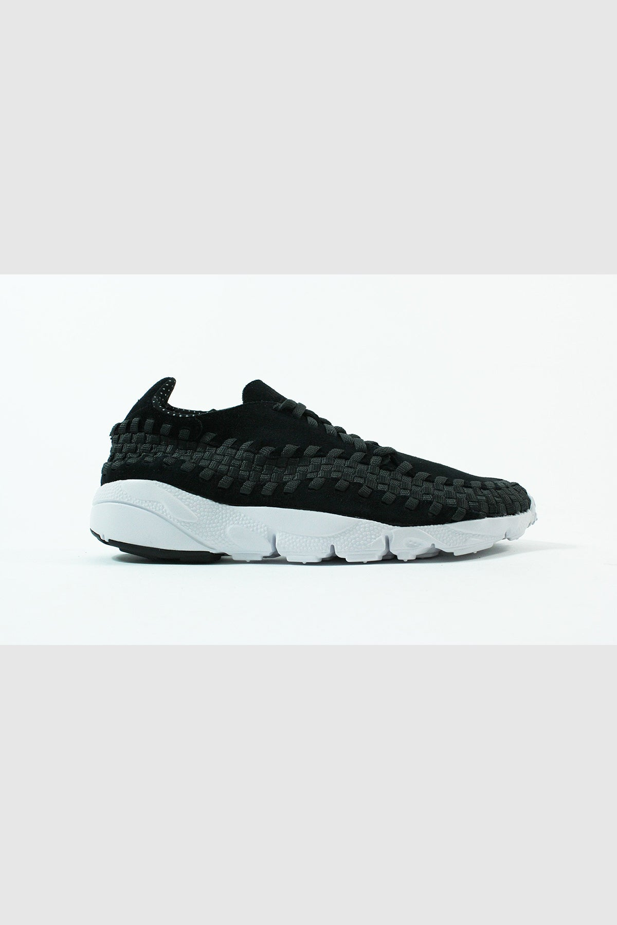 Nike - Air Footscape Woven NM (Black / Black - Anthracite White)