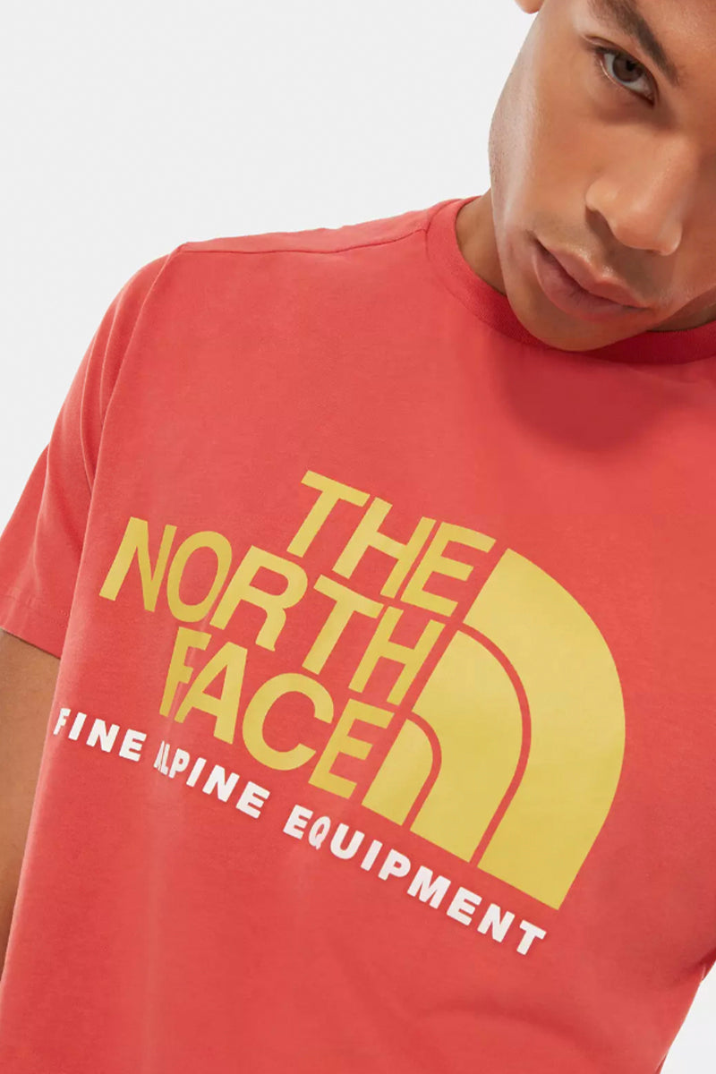 The North Face - Fine Alpine Tee (Sunbaked Red) NF0A4M6NPKB1