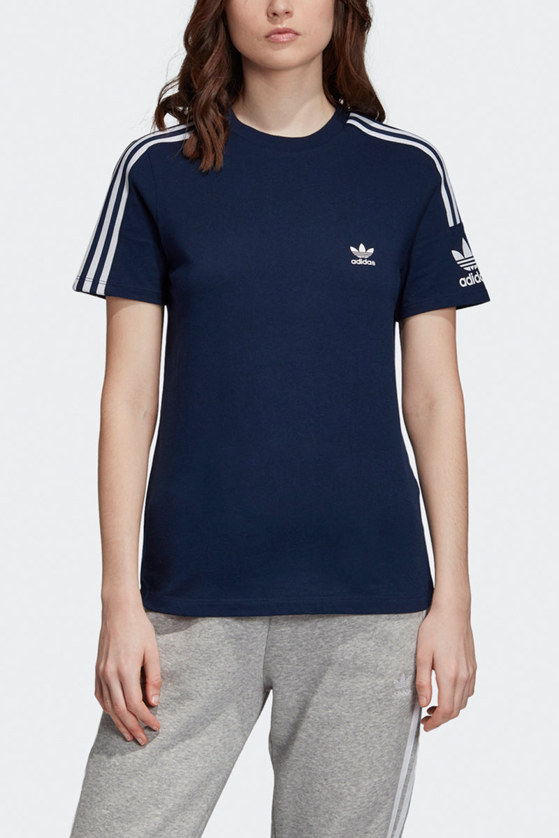 Adidas - Lock Up 3 Stripes T-Shirt (Collegiate Navy) ED7532