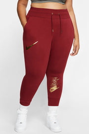 Nike - Plus Size Jogginghose in Rot - CK8612-677
