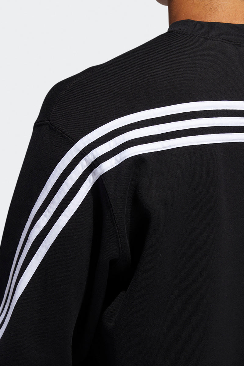 Adidas - 3-Stripes Wrap CR Crewneck (Black/ White) FM1522