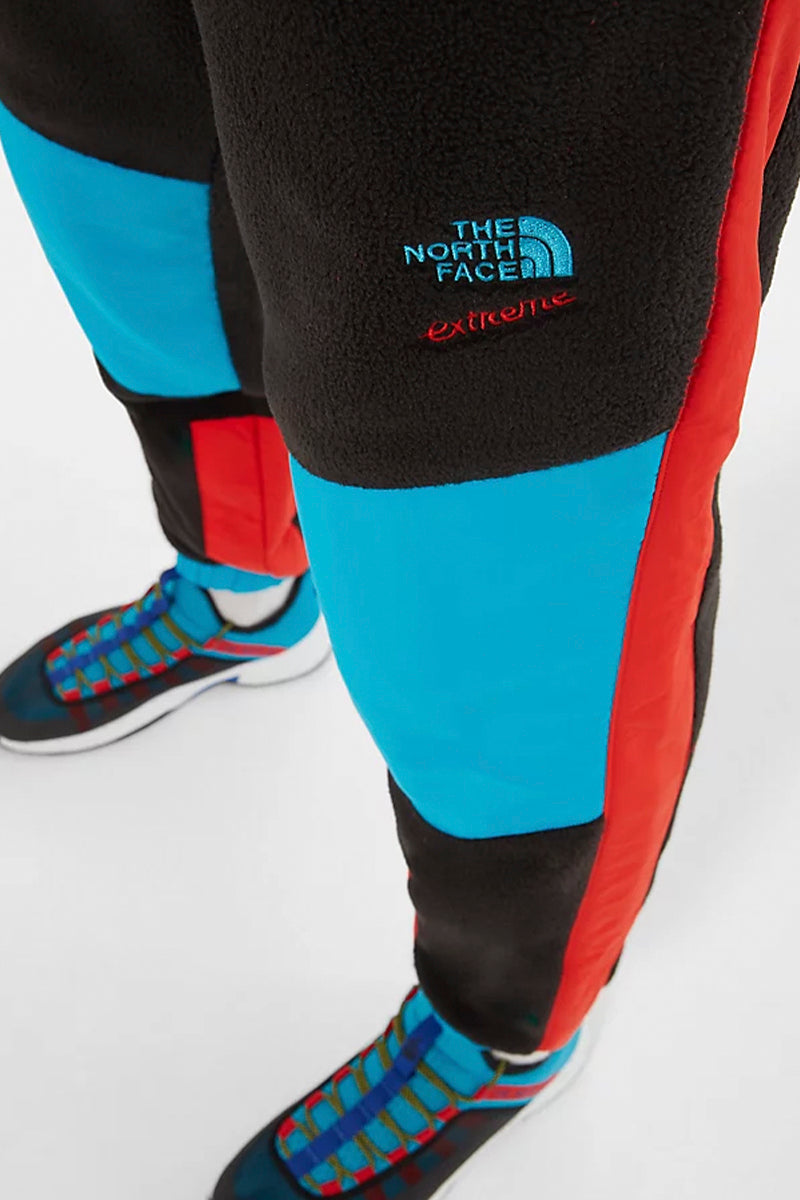 The North Face - Warme, kuschlige, Extreme Fleece Hosen in Color Blocking - NF0A4AGLCBG1