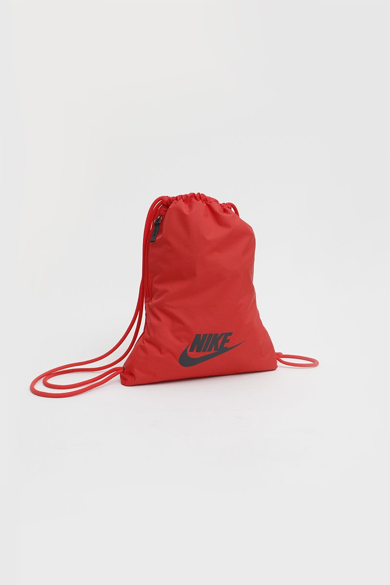 Nike - Heritage 2.0 Gym sack (Track Red/ Track Red/ DK Smoke Grey) BA5901-631