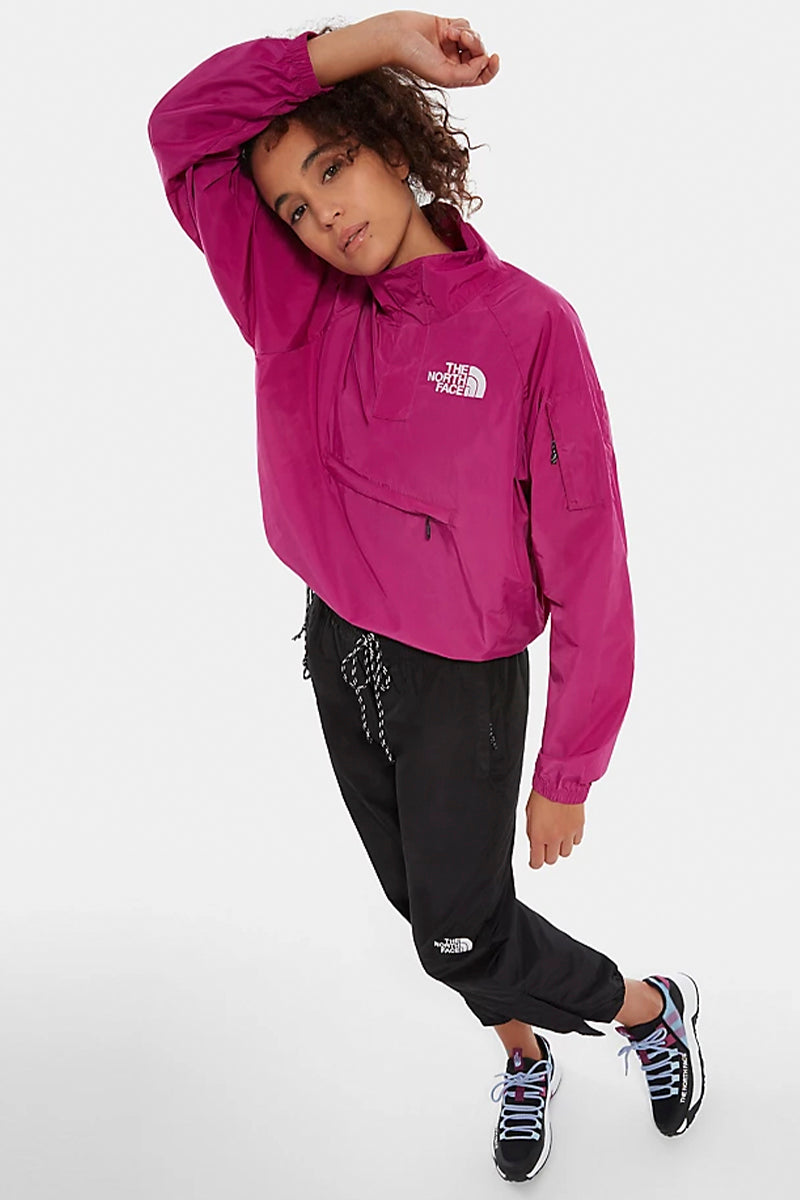The North Face - Kollektion Stone Maven Damen Jacke in Violett mit croped Schnitt - NF0A491KZDN1