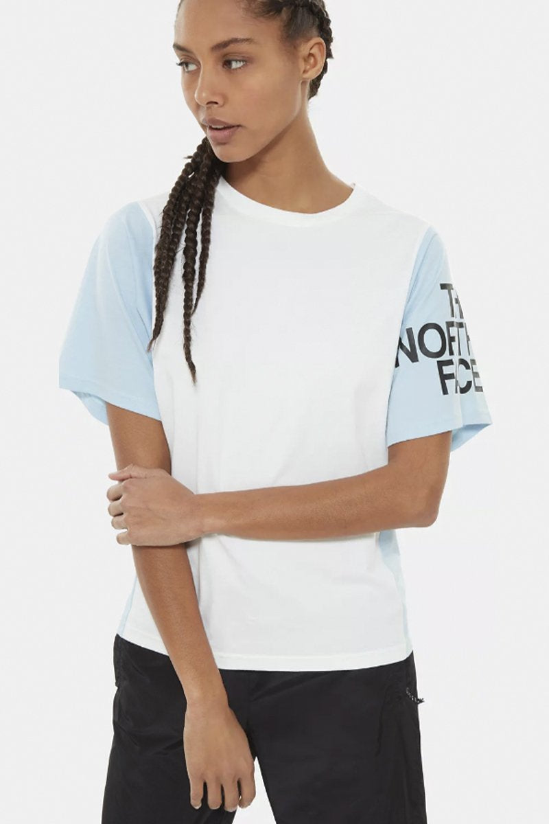 The North Face - Oversize Tee Women (Angel Falls Blue) NF0A4918JH51