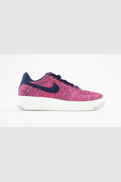 a24dbef5291b Nike - Air Force 1 Flyknit Low-COLLEGE Women (NAVY COLLEGE NAVY-HYPER -  Sneakerworld