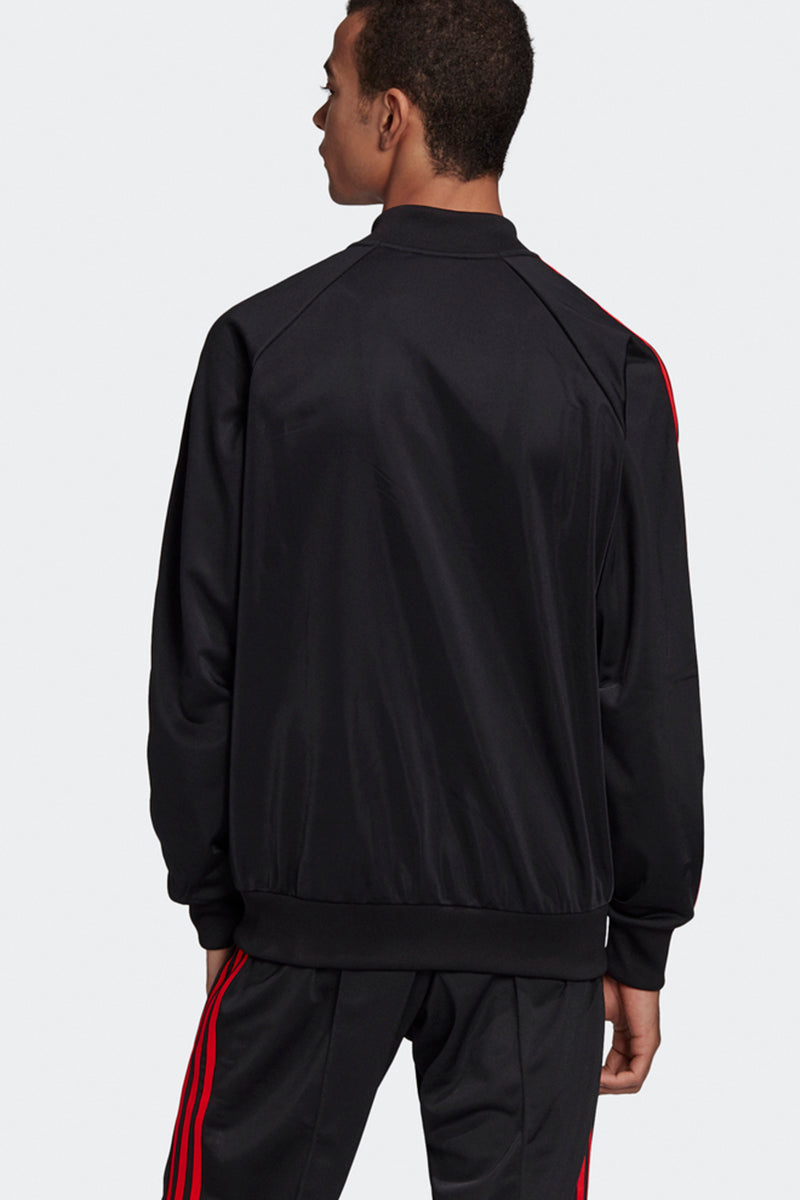 Adidas - SST OG Track Top (Black/ Red) GK0657