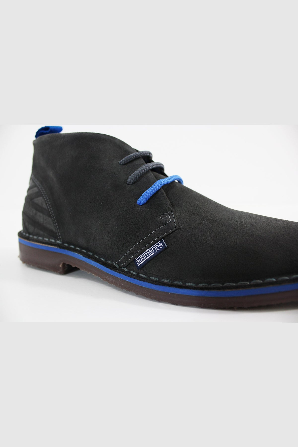 Submarine London NEW MANCHESTER SUEDE UNISEX (SHARK-MING)
