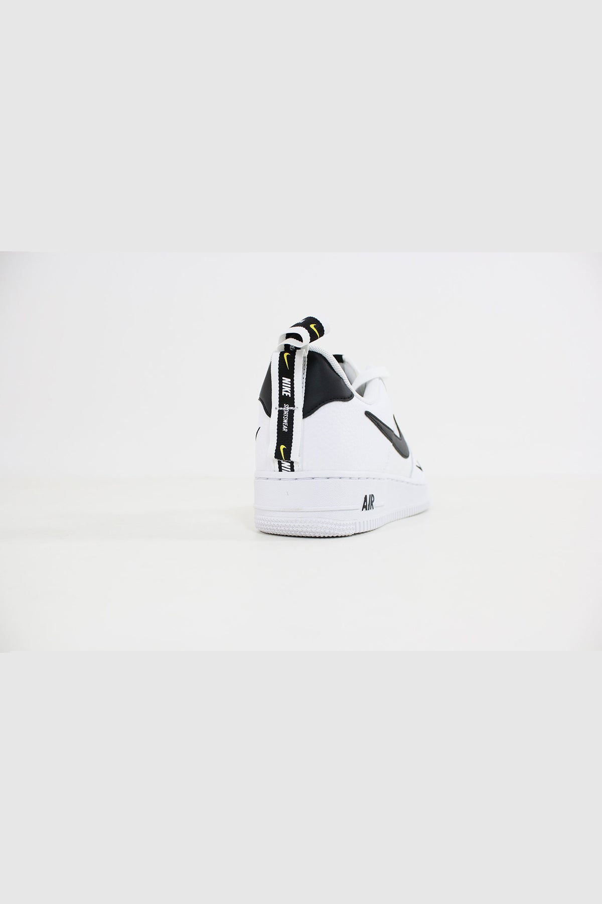 Nike - Air Force 1 '07 LV 8 Utlility (Black/ White Black Tour Yellow) AJ7747-100