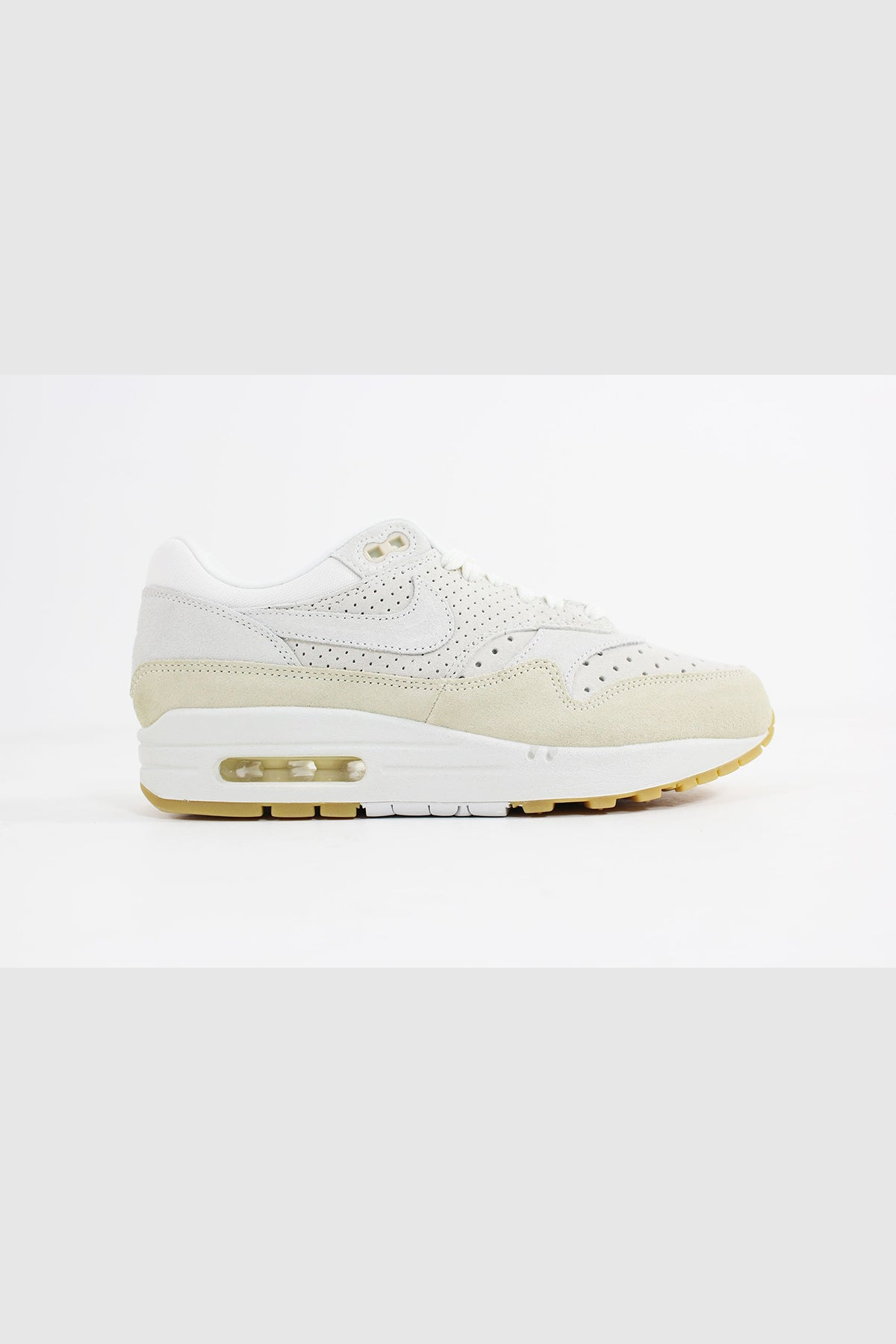Nike - Air Max 1 Premium Women (Sail/ Sail-Fossil-Gum Light Brown) 454746-110