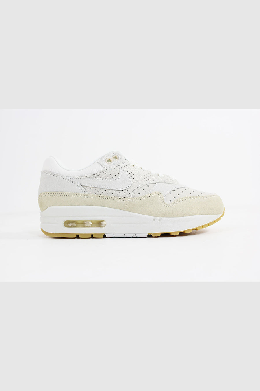 Nike - Air Max 1 Premium Frauen (Segel / Segel-Fossil-Gum Light Brown) 454746-110