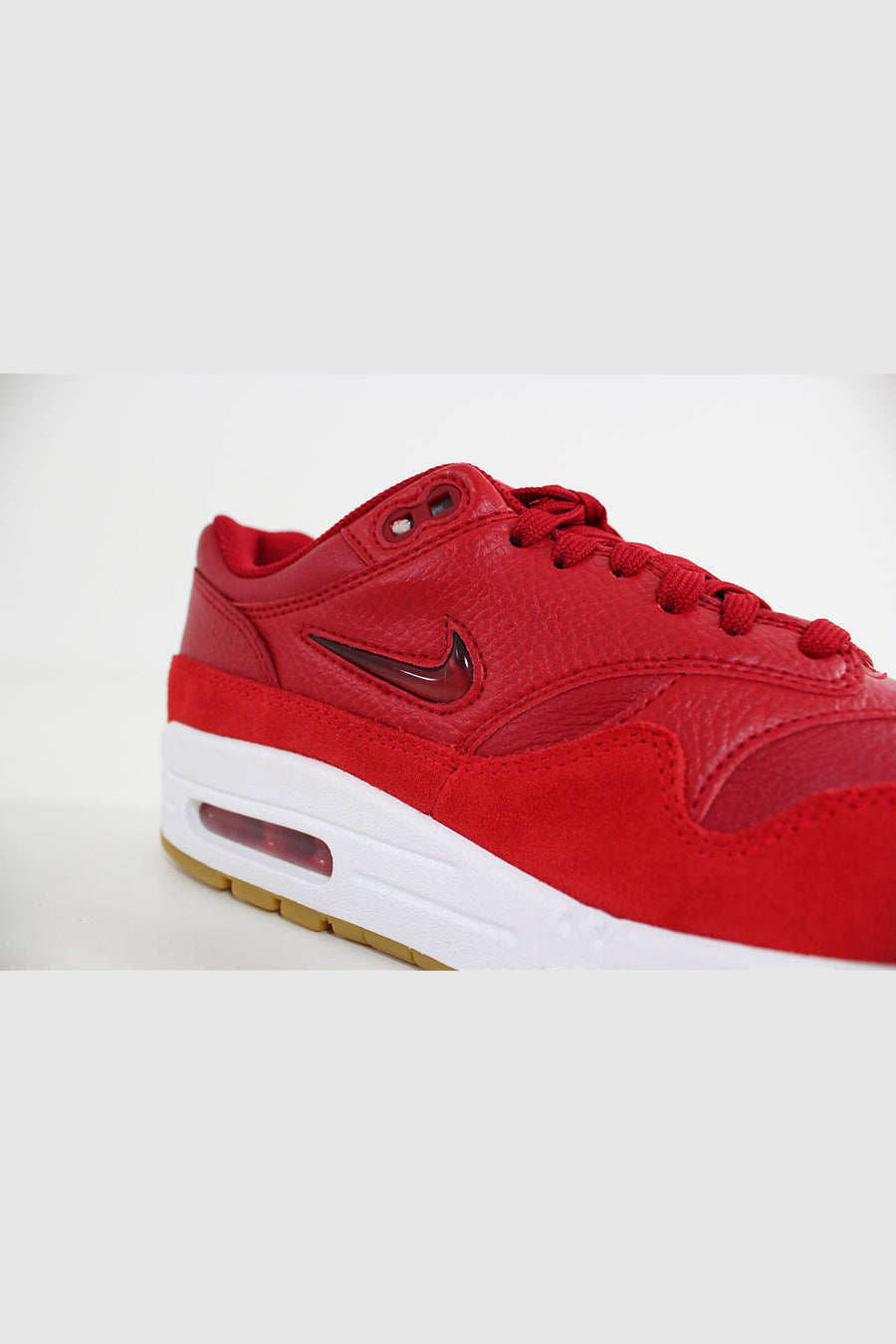Nike - Air Max 1 Premium Frauen (Gym Red / Gym Red - Speed ​​Red) AA0512-602