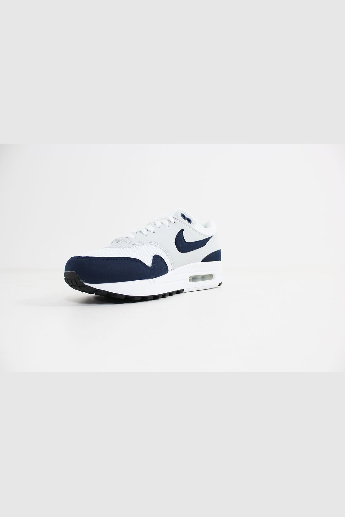 Nike - Air Max 1 Women (White/ Obsidian-Pure Platinum-Black) 319986-104