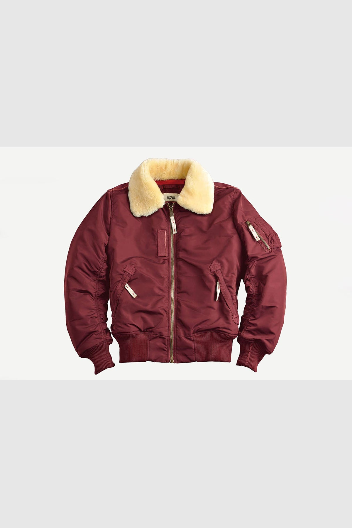 Alpha Industries - 143104 Injector III men JKT Bomber Winter Jacket (Burgundy)