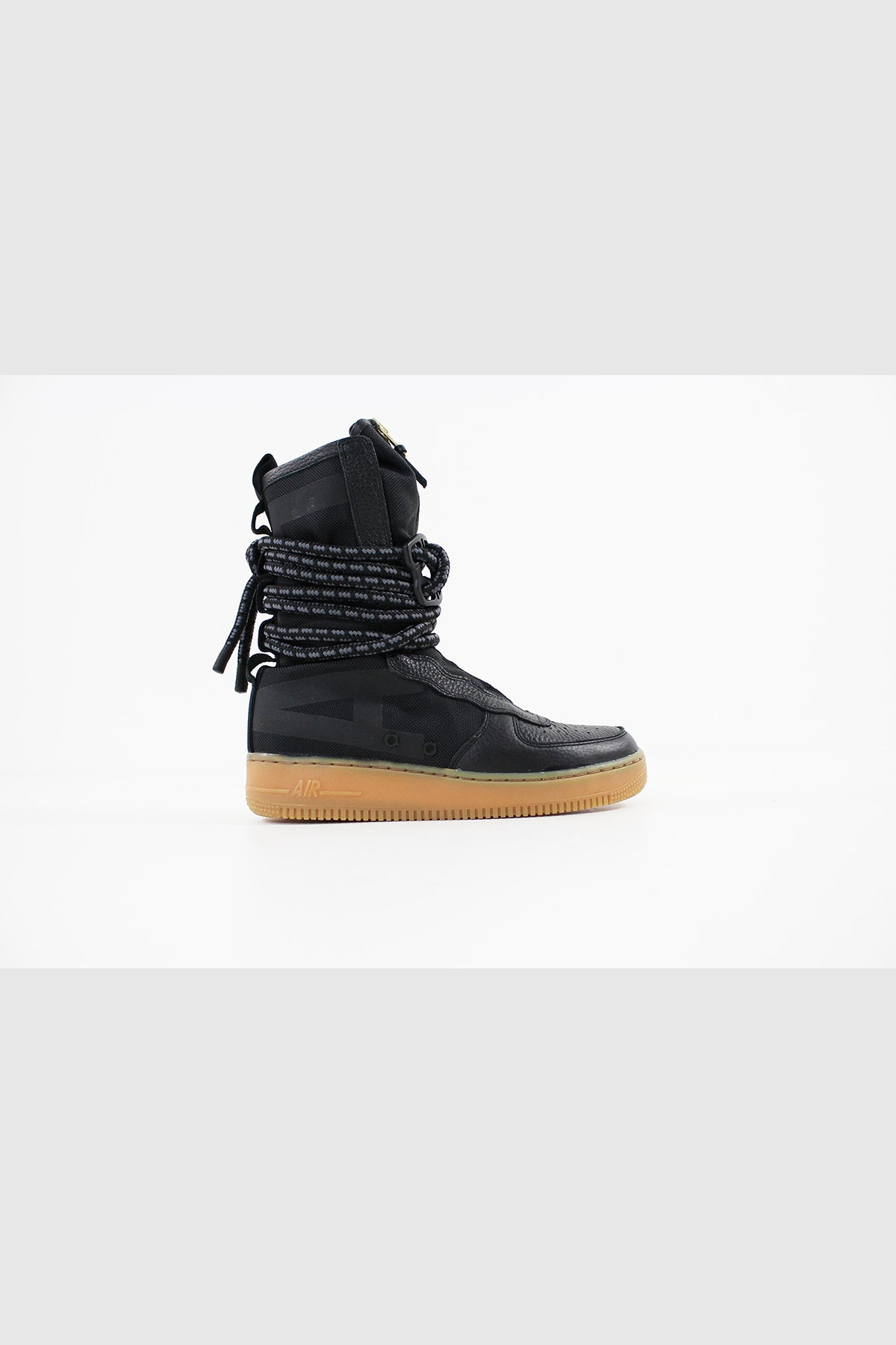 Nike - SF Air Force 1 Hi Boot Women (BLACK/BLACK-GUM LIGHT BROWN) AA3965-001