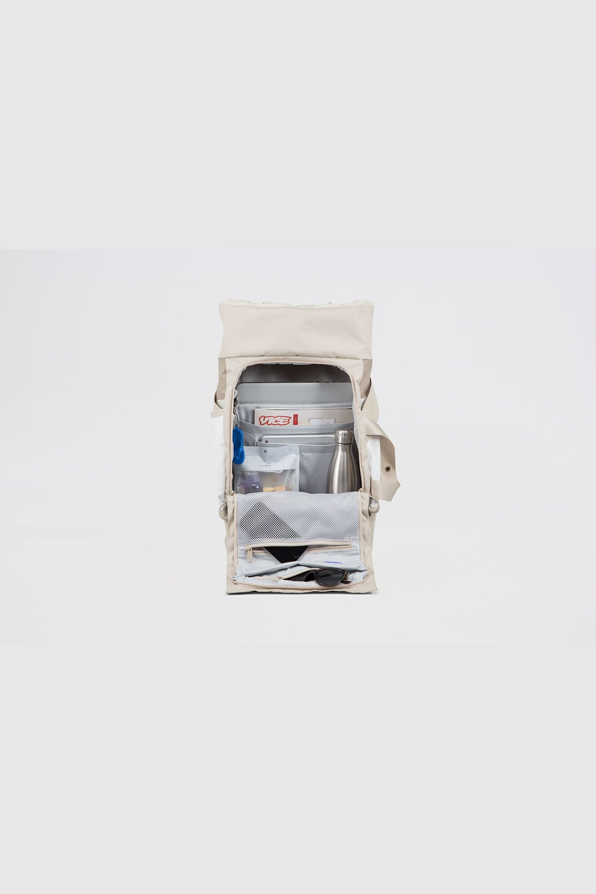 Pinqpong - Backpack Blok Medium (Tape Khaki) PPC-BLM-001-733B
