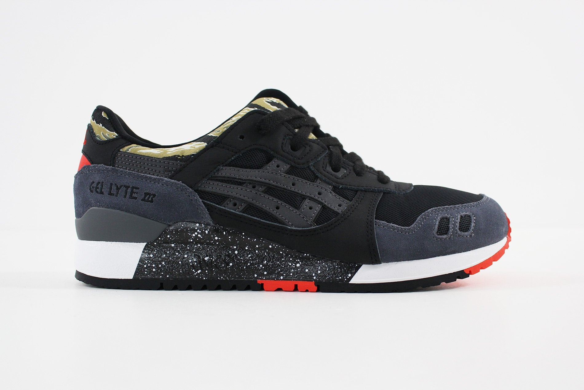 Asics GEL LYTE III (BLACKBLACK) H7Y0L 9090 Sneakerworld