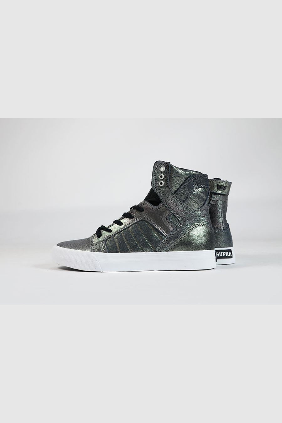 Supra - Skytop Womens (Pewter/Black-White)