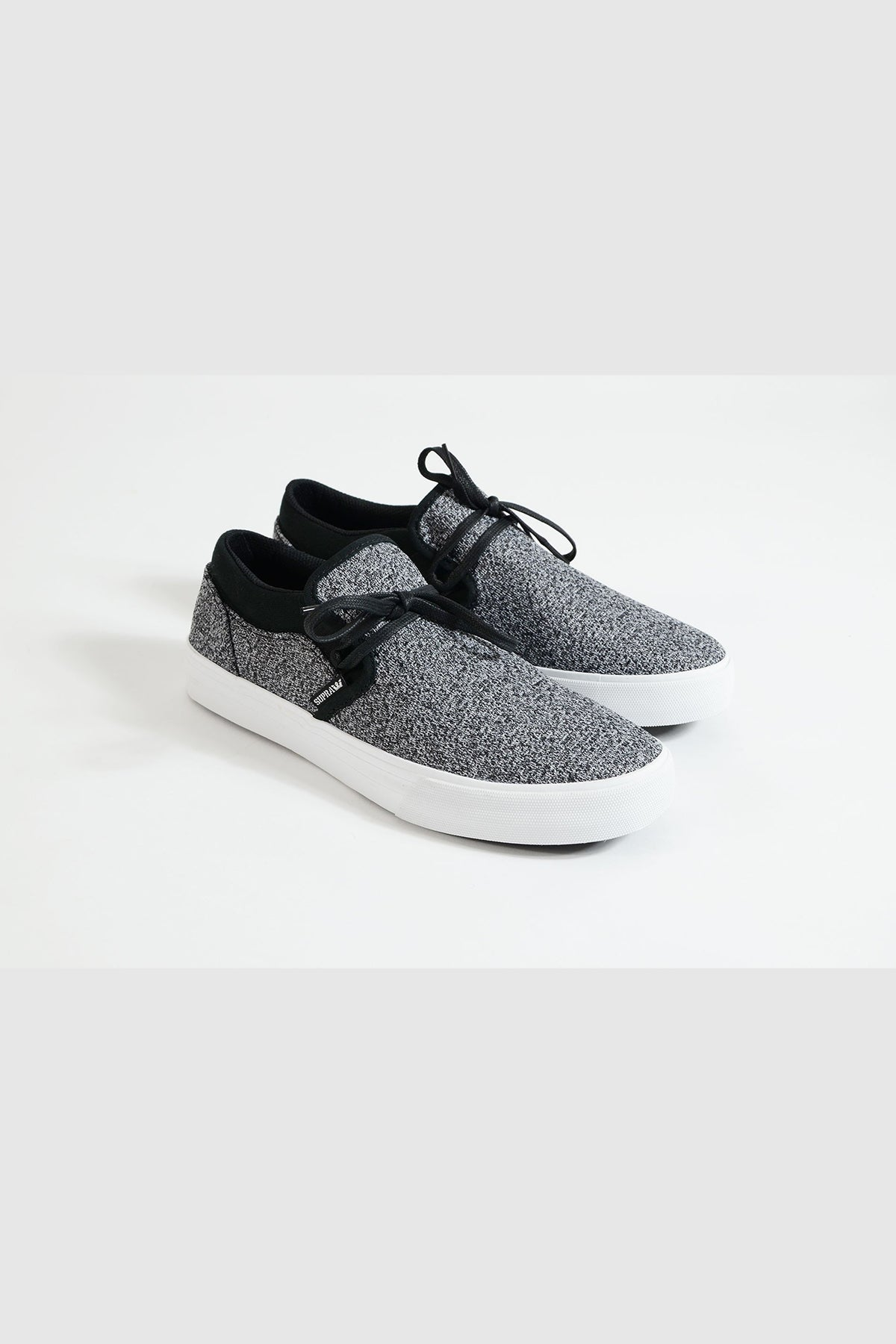 Supra - Cuba (Charcoal Heather/Black-White)