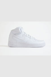 Nike - Air Force Mid Sneaker komplett in Weiß