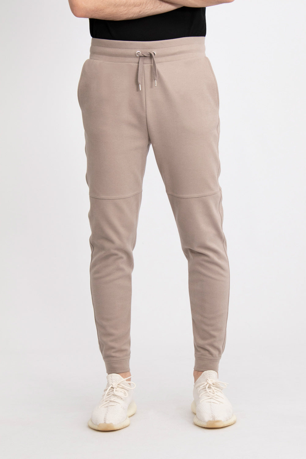 Fensh - Cuddly Buttoned Ankle Pants (Grey)