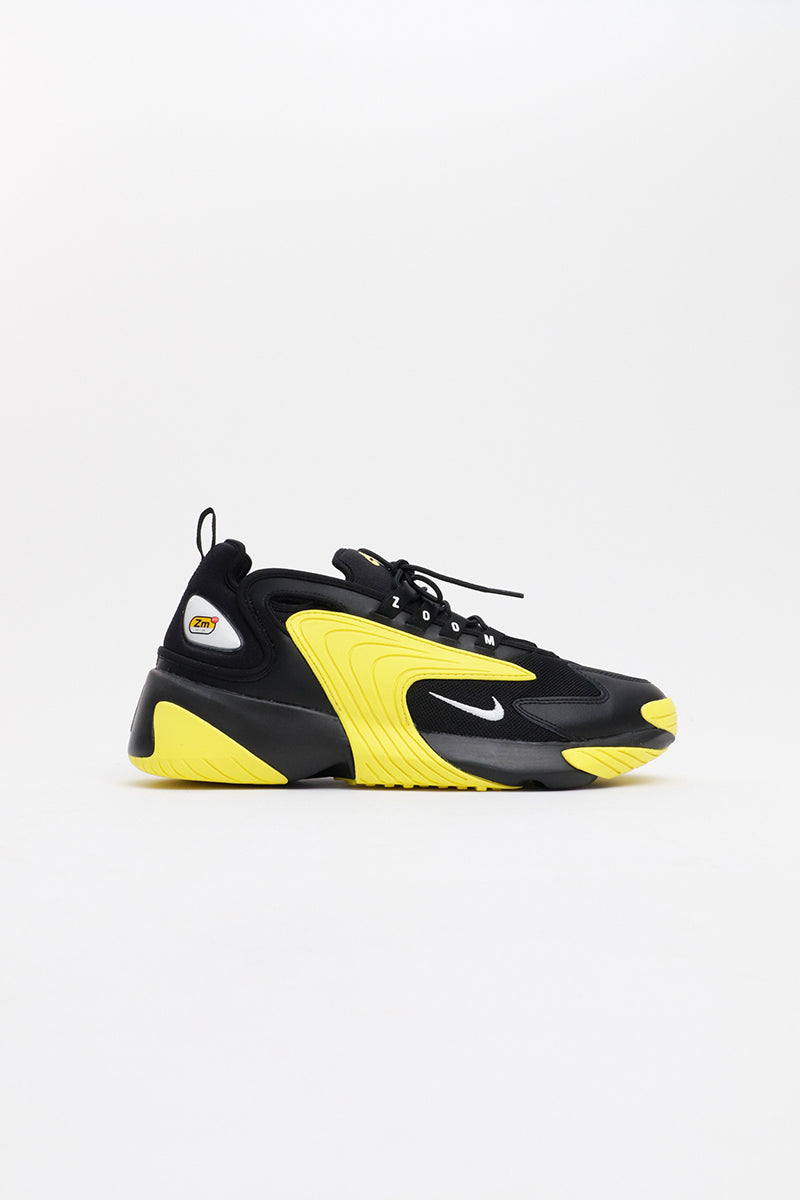 Nike - Zoom 2K (Black/ White Dynamic Yellow) AO0269-006