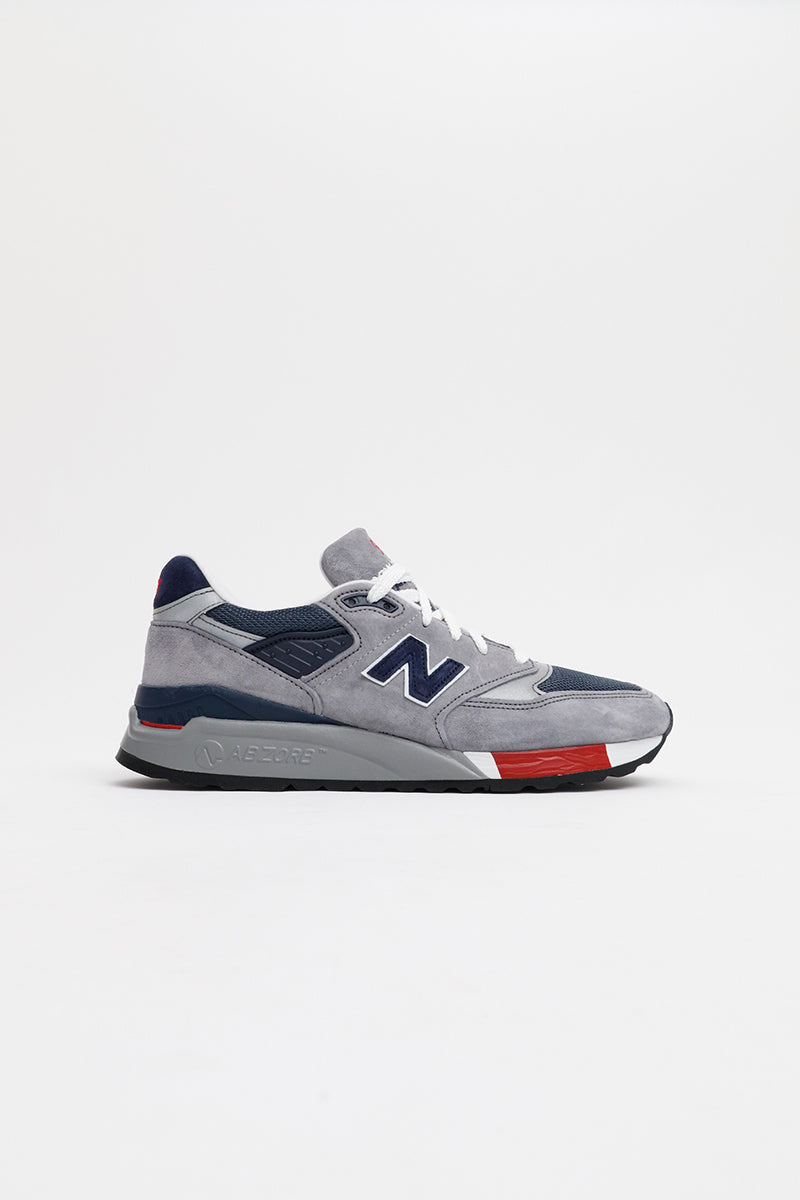New Balance - M998GNR (Grey/ Navy)