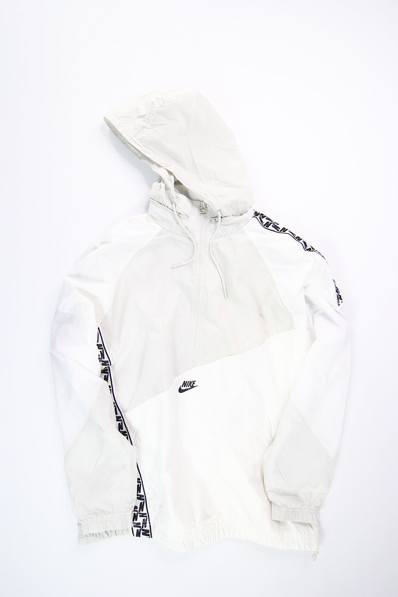 Nike - Zip Hoodie Taped WVN Anorak (Sail/White/Light Bone/ Black) AR4941-133