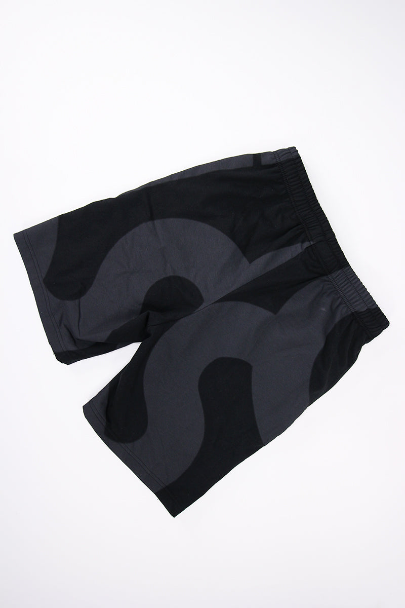 Asics - AOP Padded Shorts (PERFORMANCE BLACK) 2191A019