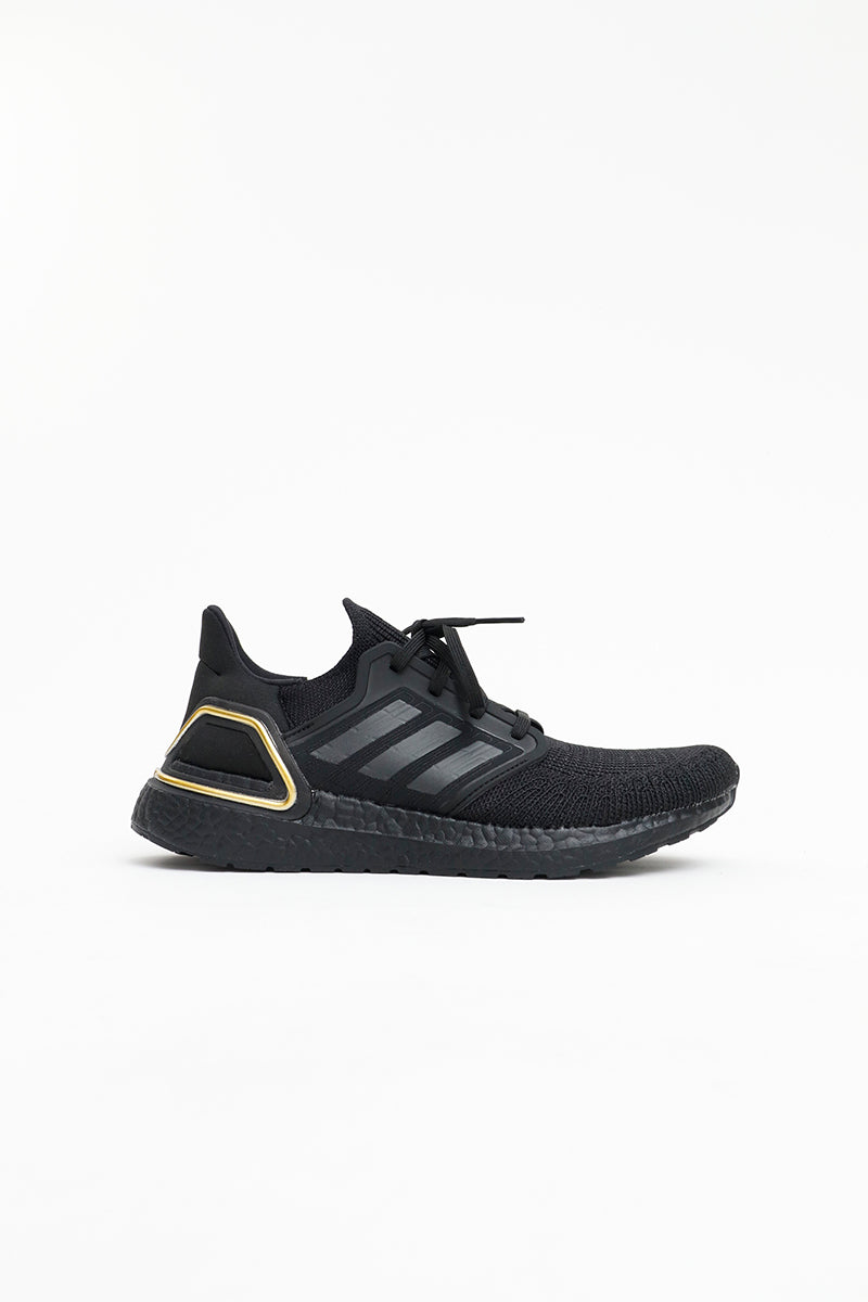 Adidas - Ultraboost 20 (Core Black/ Core Black/ Gold MT) EG0754