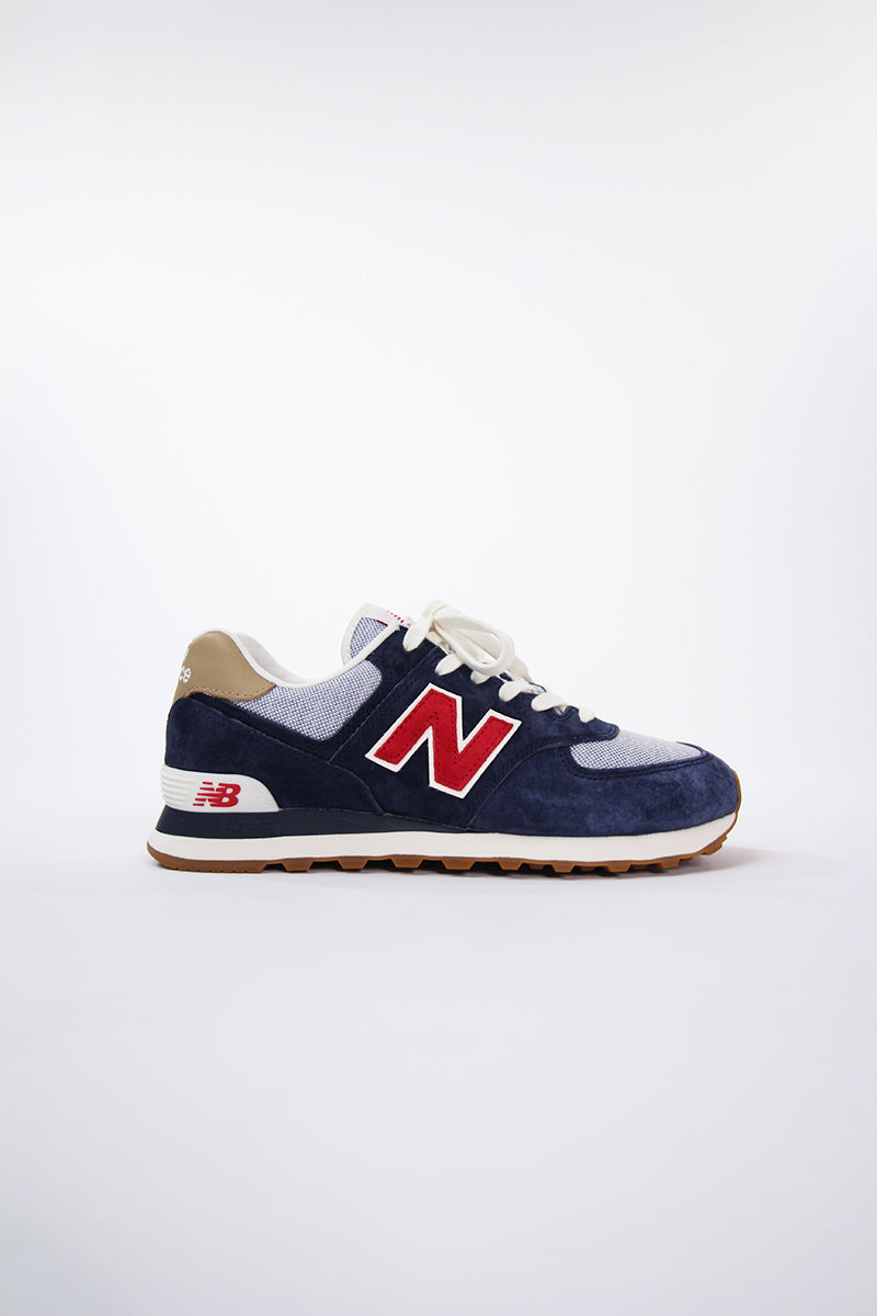 New Balance -  ML574PTR  (Navy/Red)