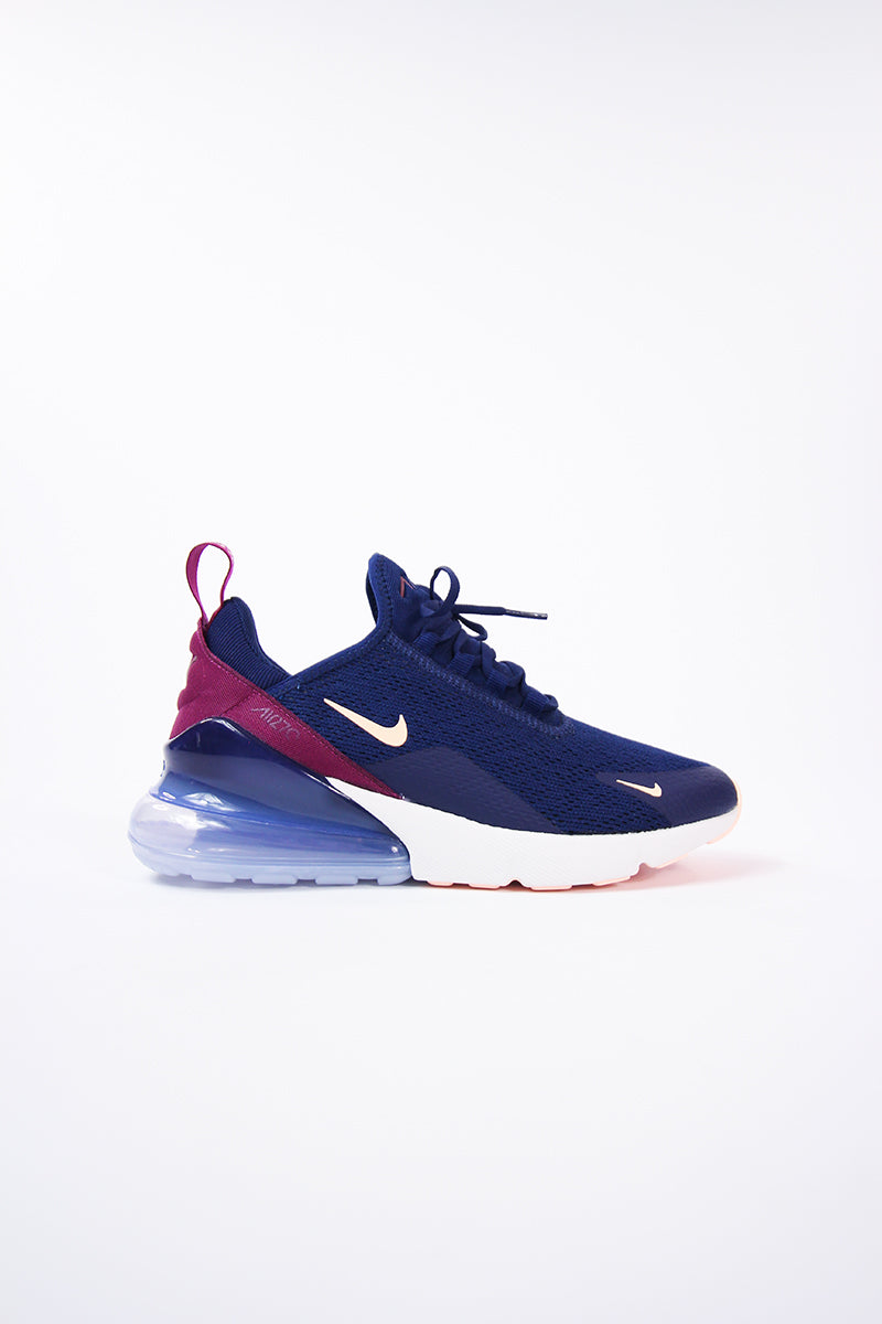 Nike - Air Max 270 Womens (blue void/crimson tint-true berry) AH6789-402