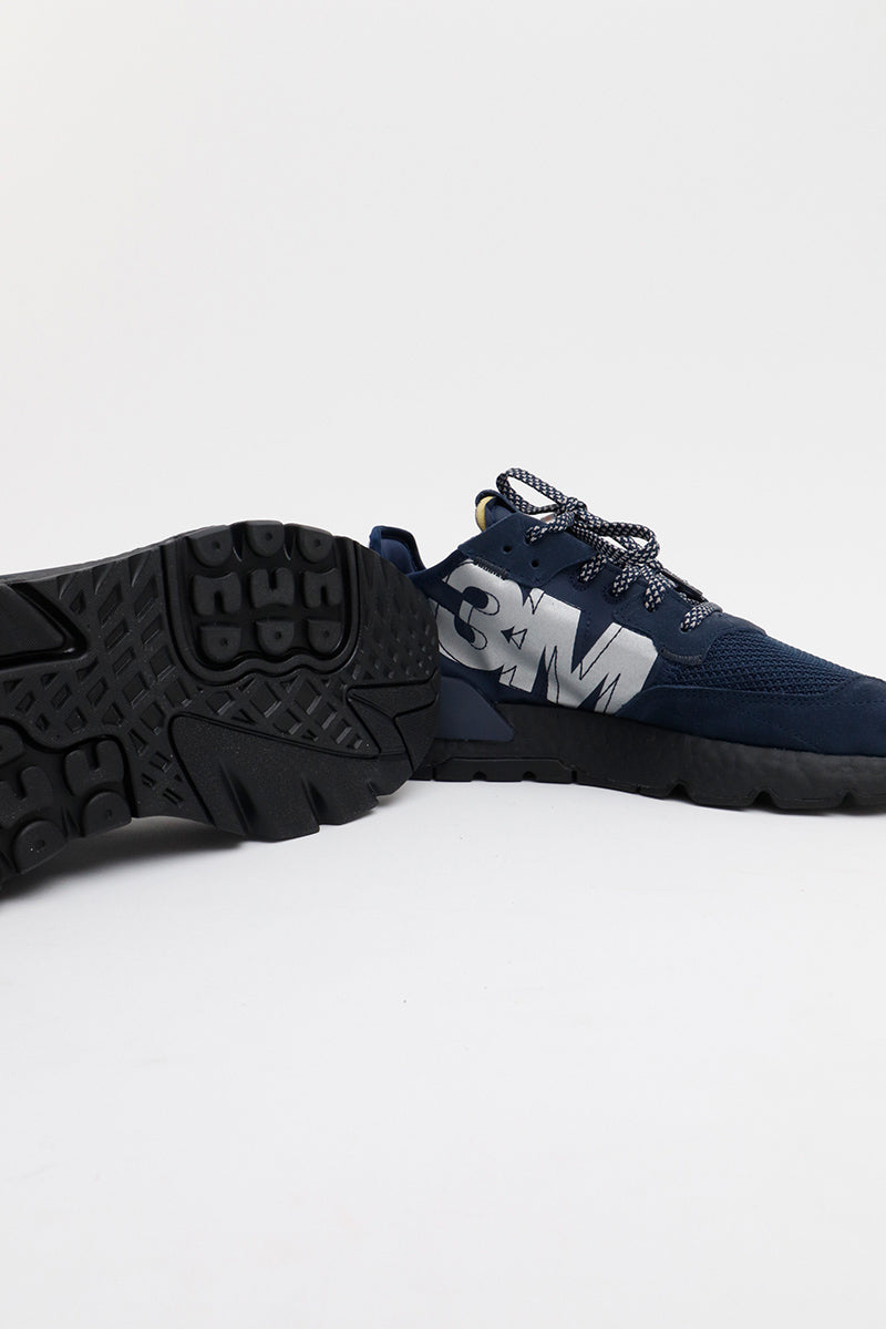 Adidas - Nite Jogger (Collegiate Navy/Collegiate Navy/Core Black) EE5858
