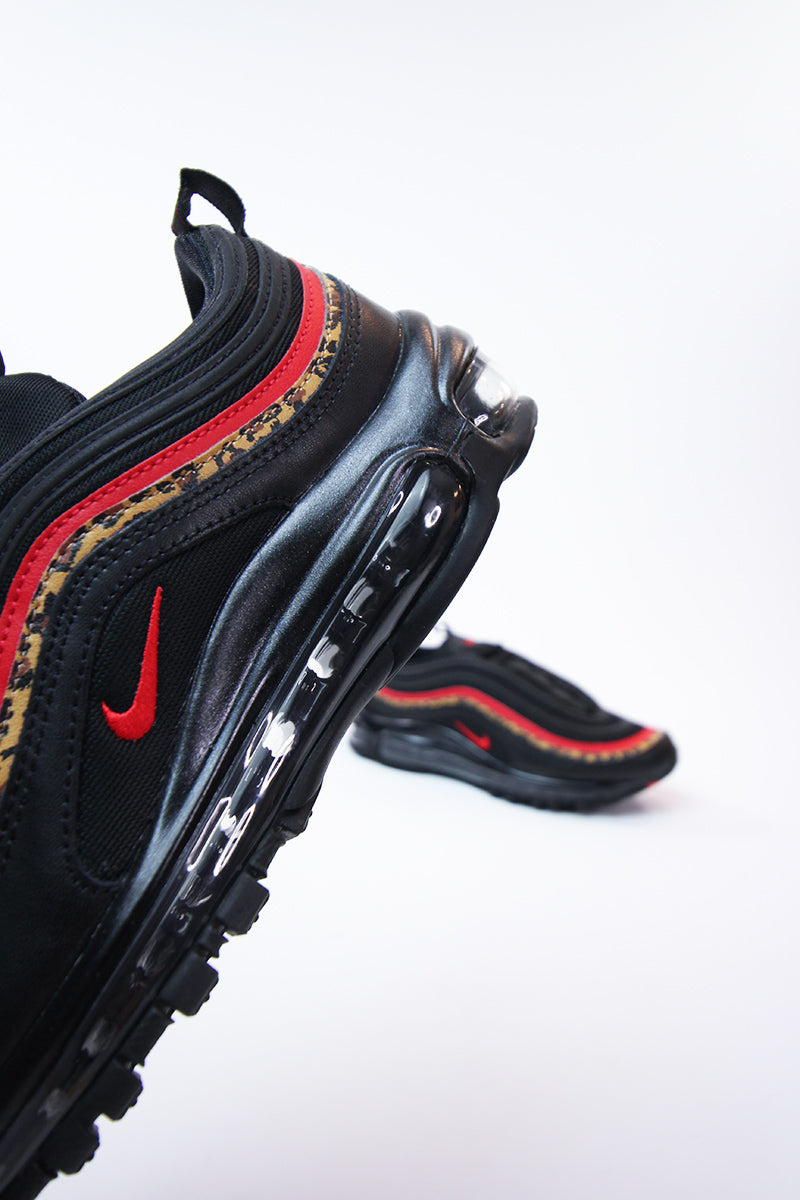 Nike - Air Max 97 Women (black/university red-print) BV6113-001